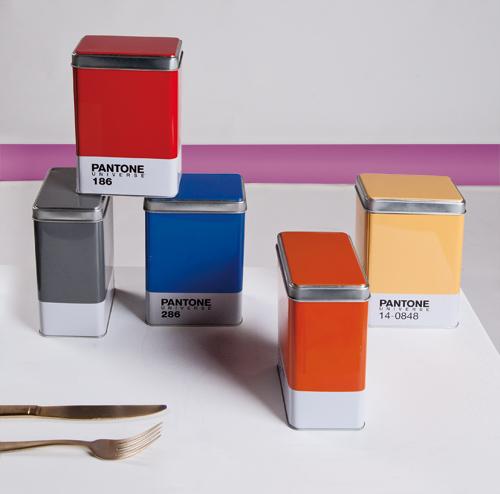 personalizzate scopri le ultime tendenze migliore selezione del 2019 Scatola metallo Pantone grigio Cool Gray 10, kitchen boxes design SELETTI